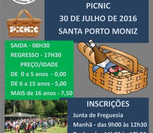 SANTA DO PORTO MONIZ 30 DE JULHO