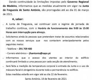 COMUNICADO Nº. 3/2021