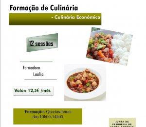 Formação de Culinária Económica