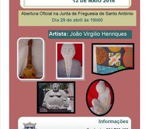 """Exposição """" Arte e Artefactos"""" do Artista Virgílio Henriques"""
