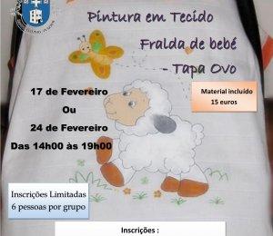 Workshop de Pintura em Tecido- Tapa-ovo